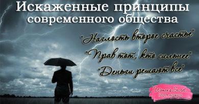 Принципы взаимоотношений современного общества и их несостоятельность - Ирина Лемешаева
