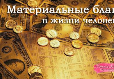 Материальные блага в жизни человека - Сергей Лемешаев